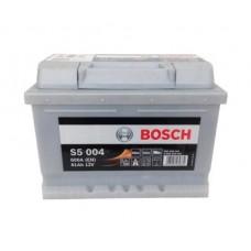 Аккумулятор S5 Silver Plus 61 А/ч, 600 А, Bosch 0092S50040