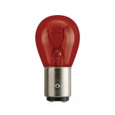 Лампа PR21/5W Vision 12V 21/5W BAW15d CP, красная, PHILIPS 12495CP