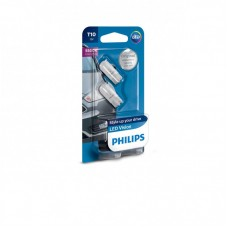 "Комплект ламп светодиодных ""LED Vision"" 5500k, W5W T10 12V, Philips 127916000KB2"