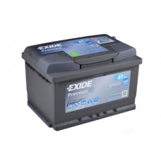 Аккумулятор Premium 61 А/ч, 600 А, Exide EA612