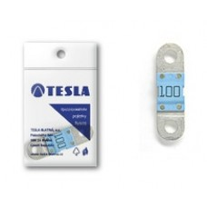 """Предохранитель 100А, плоский """"MIDI"""", Tesla FD100A"""