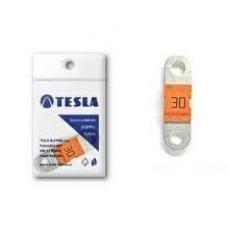 """Предохранитель 30А, плоский """"MIDI"""", Tesla FD30A"""