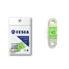 """Предохранитель 40А, плоский """"MIDI"""", Tesla FD40A"""