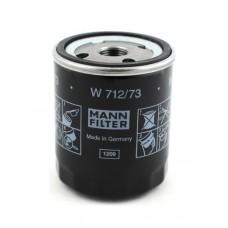 Фильтр масляный, Mann W712/73